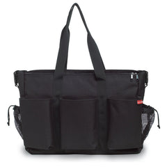 Skip Hop Duo Double Deluxe Diaper Bag - Black