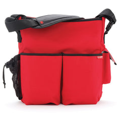 Skip Hop Duo Essential Diaper Bag - Red