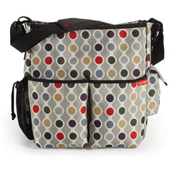 Skip Hop Duo Deluxe Diaper Bag - Wave Dot