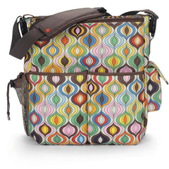 Skip Hop Jonathan Adler Duo Essential Diaper Bag - Wave Multi