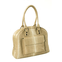 JP Lizzy Snake Latte Cate Tote