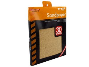 Sandpaper Value Pack, Case of 96