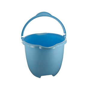 Plastic Bucket With Handle & Pour Spouts - Pack of 12