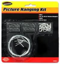 Picture hanging kit - Pack of 48