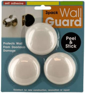 3 pack doorknob wall guards, Case of 96
