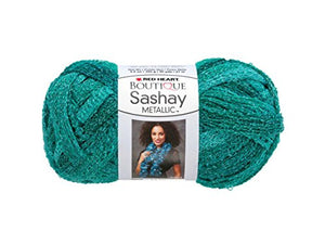 bulk buys Malachite Metallic Sashay Yarn - Pack of 24