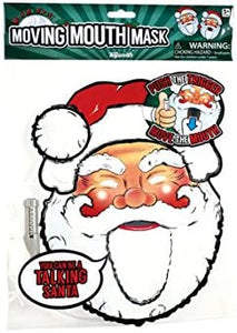 Talking Headz Santa Moving Mouth Mask - Pack of 48