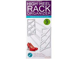 bulk buys High Heel Rack Organizer - Pack of 2