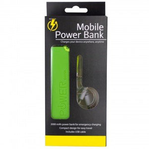 Mobile Power Bank Keychain - Pack of 6