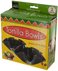Tortilla Baking Bowls Set - Pack of 16