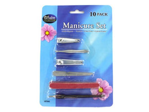 10 Pack manicure set - Pack of 48