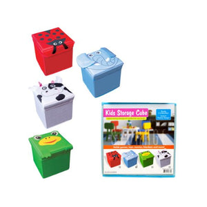 Kids Fabric Storage Cube, Case of 8