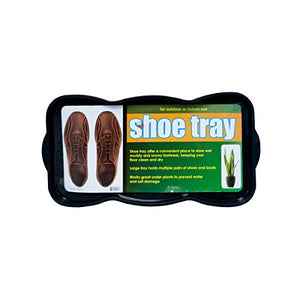 Textured Shoe & Boot Storage Tray - Pack of 16