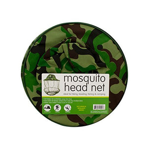 Mosquito Head Net Hat - Pack of 15