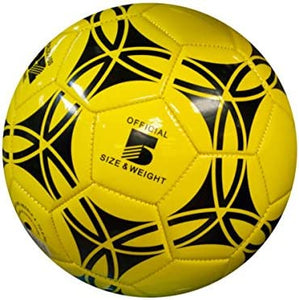 bulk buys Size 5 Glossy Patterned Soccer Ball - Pack of 4