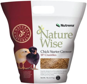 Nutrena Nature Wise Chick Starter Grower Feed - 7 Lb.