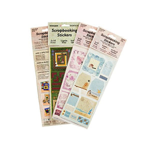 Scrapbooking Stickers Assortment-Package Quantity,72