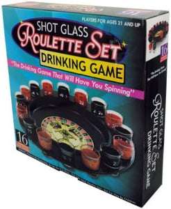 Bulk Buys Roulette drinking game (Set of 3)