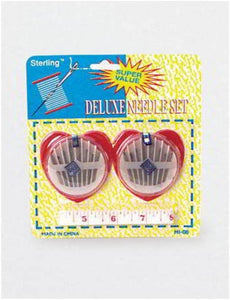 Deluxe needle set with measuring tape - Pack of 72