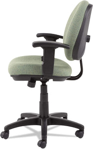Alera Interval Swivel/Tilt Task Chair with Soft-Touch Leather