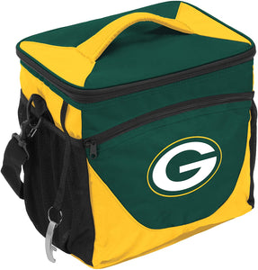 Logo Brands NFL Green Bay Packers 24 Can Cooler, One Size, Hunter