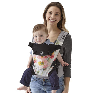 Contours Love 3-in-1 Child & Baby Carrier with 3 Seating Positions, Pink Bouquet