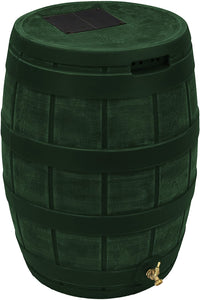 Good Ideas RVT-GRN Rain Vault Rain Barrel, Green