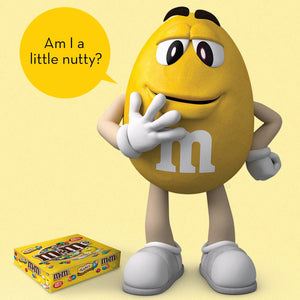 M&M'S Peanut Chocolate Candy Singles