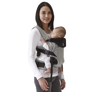 Contours Love 3-in-1 Child & Baby Carrier with 3 Seating Positions, Starburst Grey
