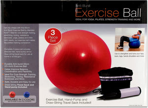 Pilates Exercise Ball And Pump