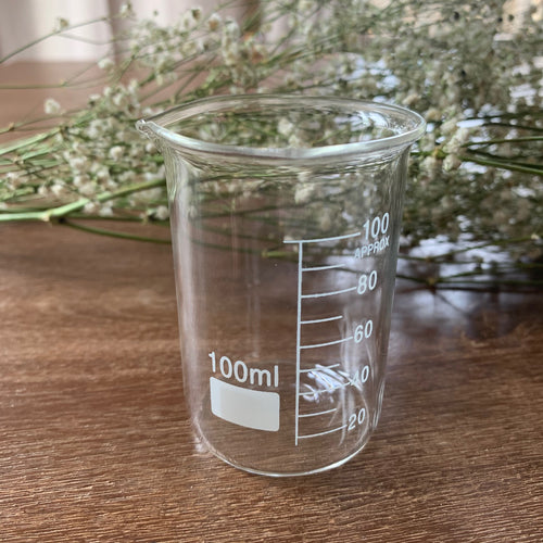 100ml Glass Cylindrical Beaker
