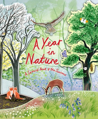 A Year In Nature: A Carousel Book Of The Seasons
