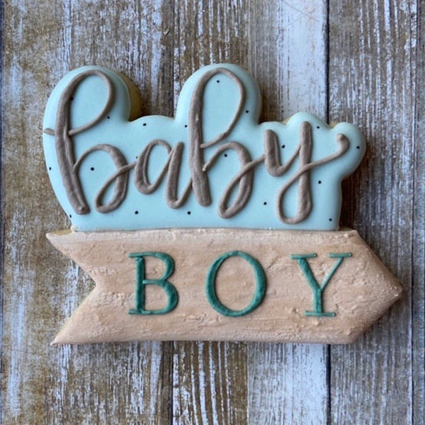 Wilderly Baby Arrow Plaque