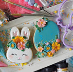 Borderlands Floral Bunny and Egg Set
