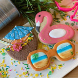 Borderlands Tropical Vacation Cookie Cutter Set