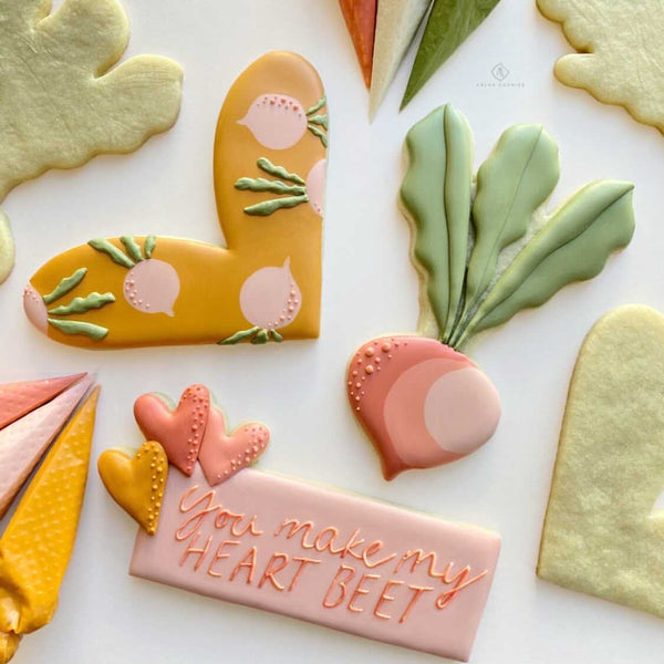 "Arlo's Cookies ""You Make My Heart Beet"" Set of 3"