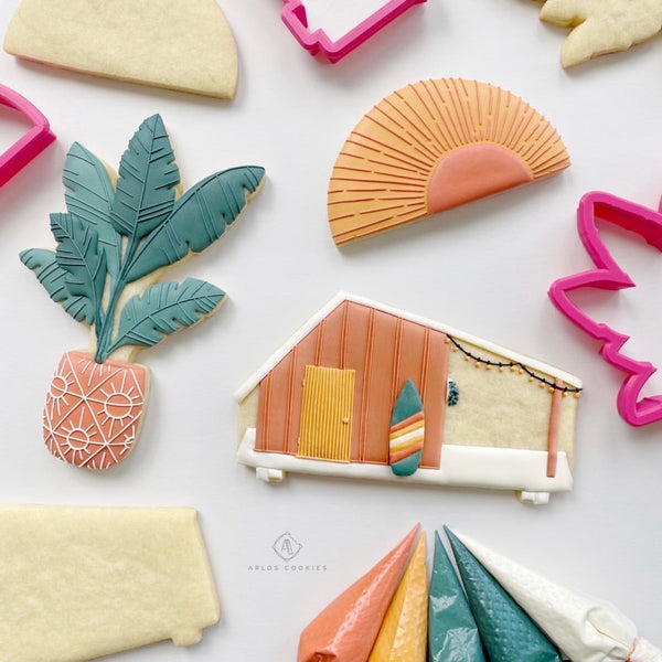 Arlo's Cookies Live Summer Class Cookie Cutters