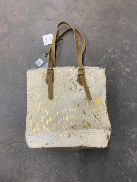Myra Bag S2108 Tote Cowhide Gold