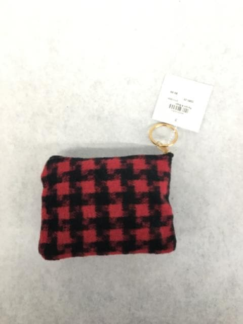 Lib Coin Purse Fleece Plaid