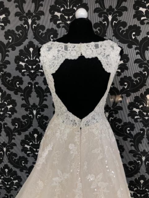 Martina Liana MARCY 834 Women's Wedding Dress Lace/Tulle Size 10