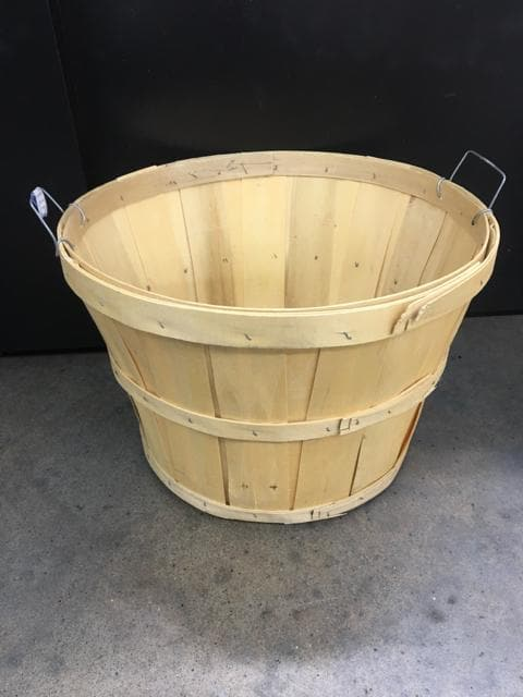 Apple Basket W/ Side Handles