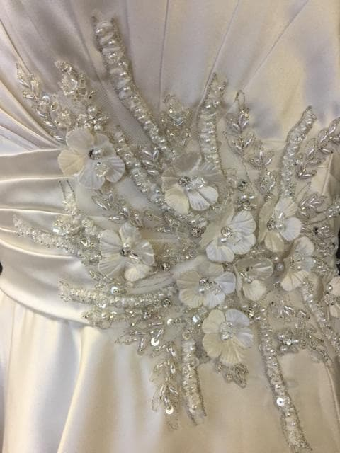 Gold Size 2 WEDDING DRESSES
