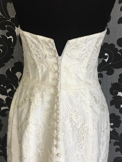 Ivory Size 10 WEDDING DRESSES