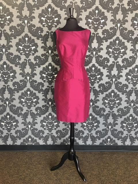 Size 12 Sangria Lugo 255 Cocktail Silk Sleeveless
