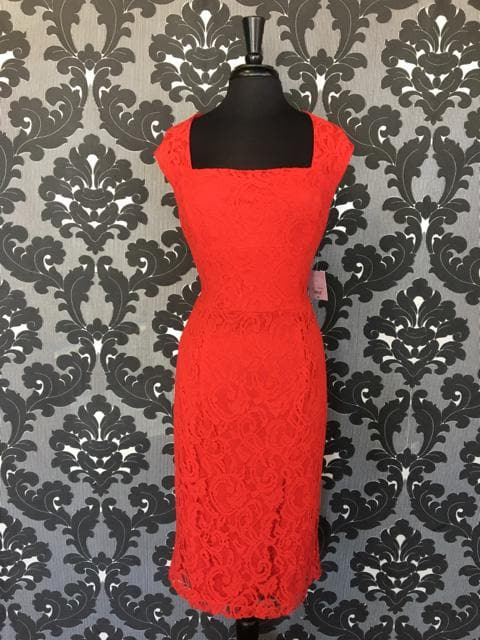 Red Size 14 Lix Claborne FORMAL DRESSES