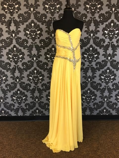 Yellow Size 10 PROM