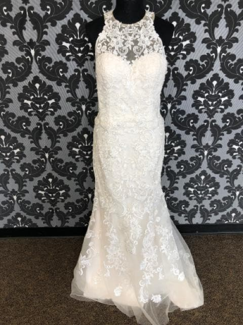 Sincerity By Justin Alexander REAGAN 4027 Women's Wedding Dress Lace