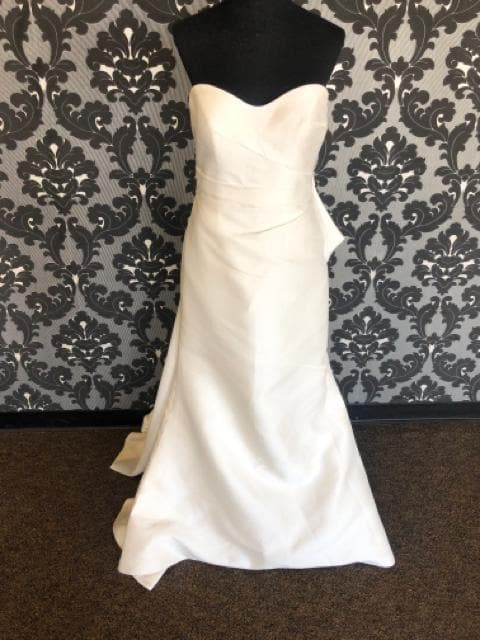 Martina Liana MARIANNA 1007 Women's Wedding Dress Crepe Ivory Size 12
