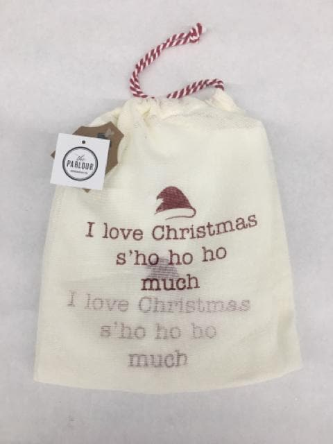 Mudpie Christmas Apron in a bag