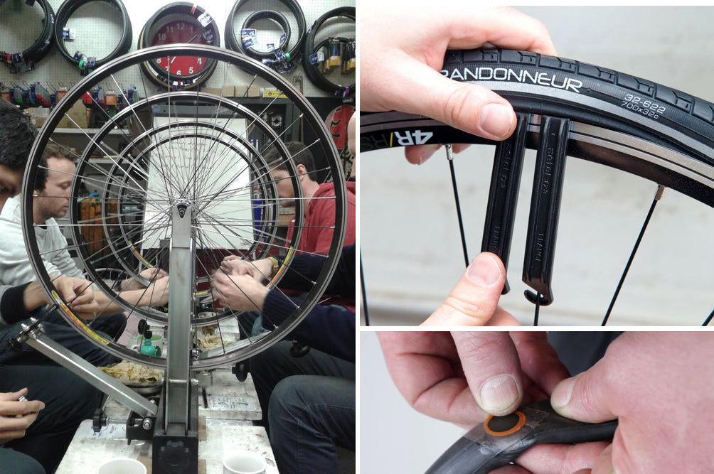 Bicycle maintenance classes